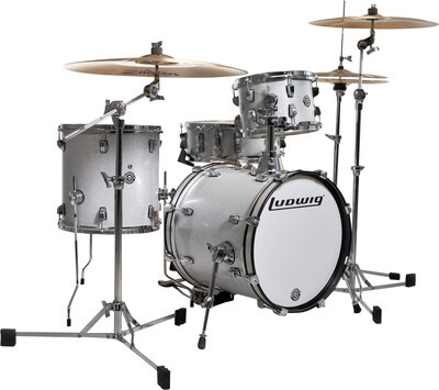 LUDWIG BREAKBEATS LC179WTS White Sparkle